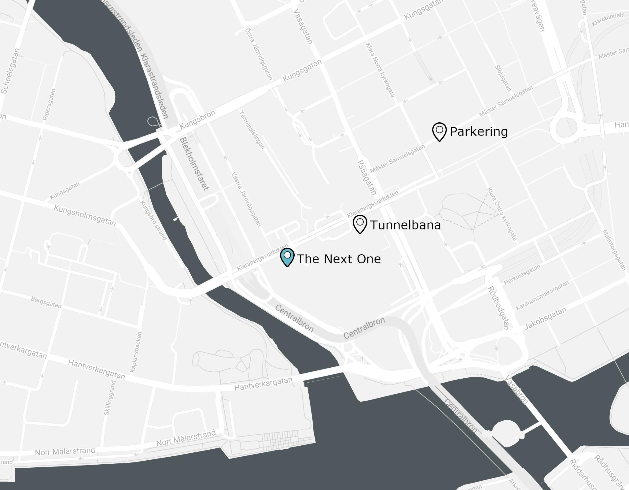 Klarabergsviadukten 63, 111 64 Stockholm